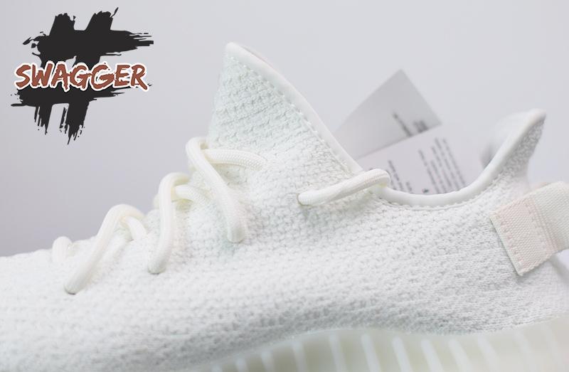 Giày Adidas Yeezy Boost 350 V2 Cream/Triple White Pk God Factory sử dụng chất liệu chính hãng, chuẩn 99% cam kết chất lượng tốt nhất hiện nay