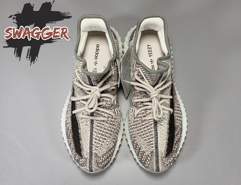 Giày Adidas Yeezy 350 V2 Zyon On Feet sử dụng chất liệu chính hãng, chuẩn từng chi tiết nhỏ nhất, full box và phụ kiện