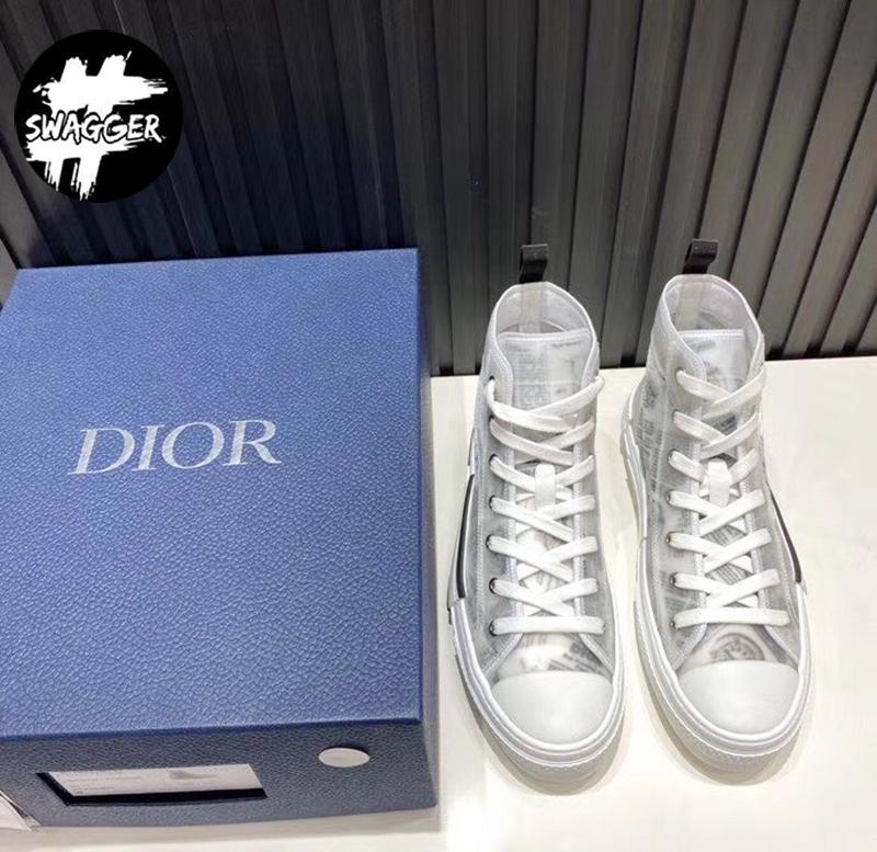 Giày B23 Dior X Daniel Arsham High Newspaper like auth chuẩn 99.9% so với chính hãng