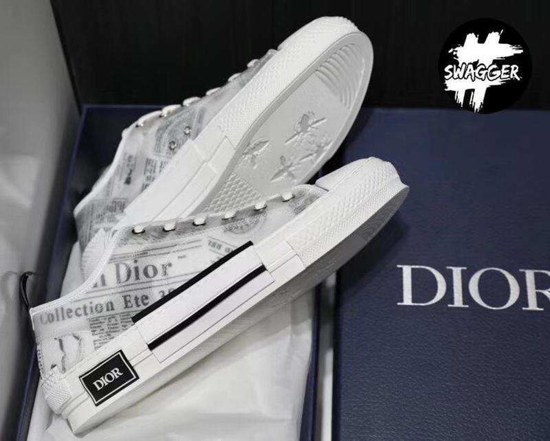 Giày Dior X Kaws B23 Daniel Arsham Low Newspaper chuẩn 99.9% so với chính hãng