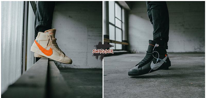 Nike Blazer Mid Off-White chuẩn 99.9% full box và phụ kiện