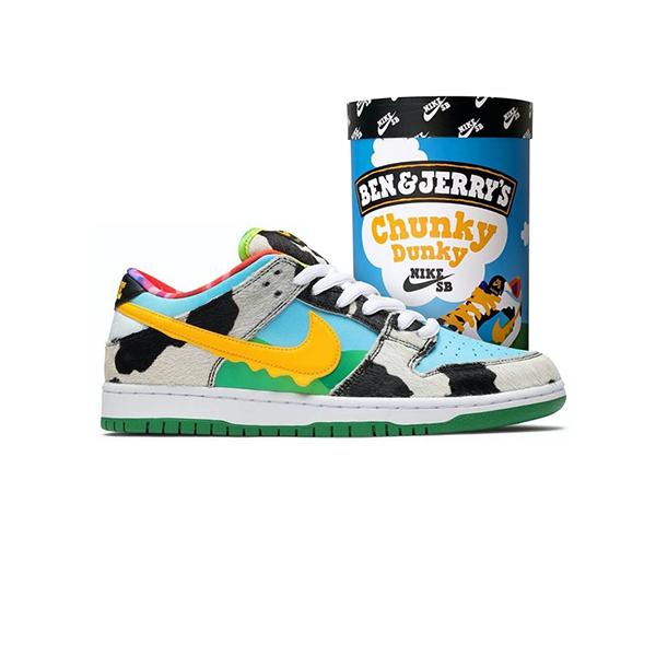 Giày Nike SB Dunk Ben Và Jerry's Chunky Dunky Pk God Factory