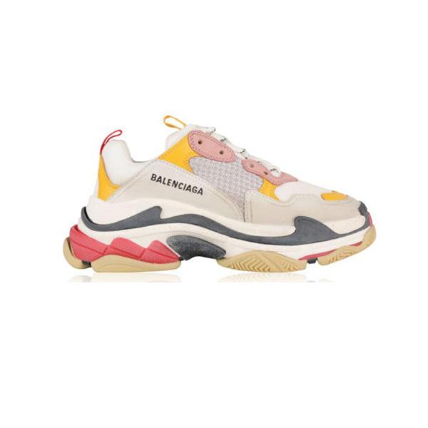 Giày Balenciga Triple S Pink Yellow Plus Factory