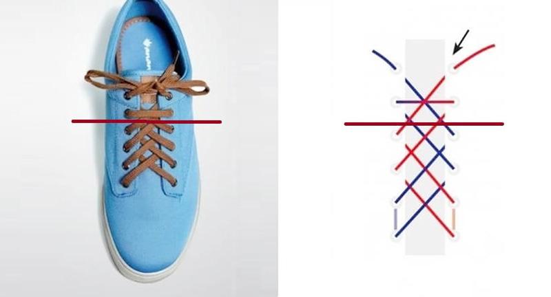 cách buộc dây giày 4 lỗ đẹp, đơn giản giúp bạn có được nhiều cách thắt độc đáo