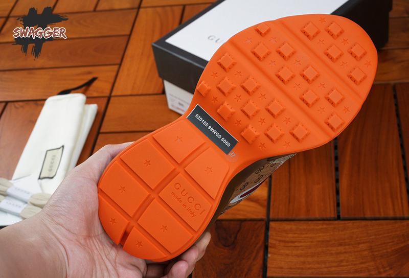 Giày Gucci Rhyton Brick Red Like Authentic sử dụng chất liệu chính hãng, chất lượng tương đương hãng, giống 99%. full box và phụ kiện , nhận ship cod toàn quốc