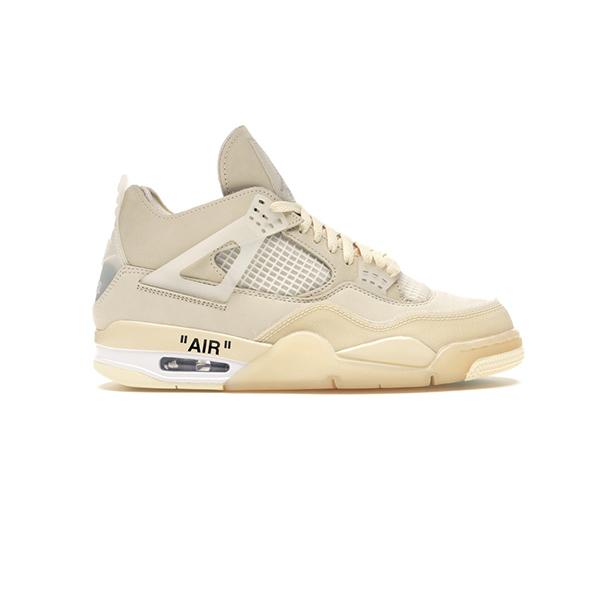 Giày Nike Air Jordan 4 Retro Off White Sail Pk God Factory