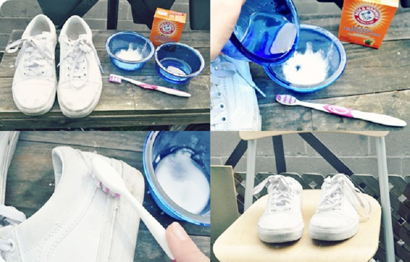 có nên giặt giày bằng bột giặt không ? cách giặt giày giúp giày luôn như mới