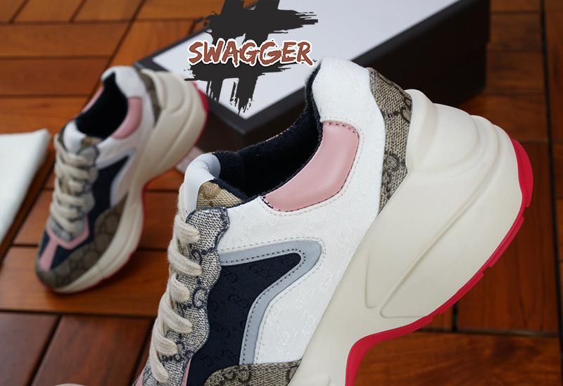 Giày Gucci Rhyton Beige Ebony (W) Like Authentic sử dụng chất liệu chính hãng chuẩn 99% full box và phụ kiện