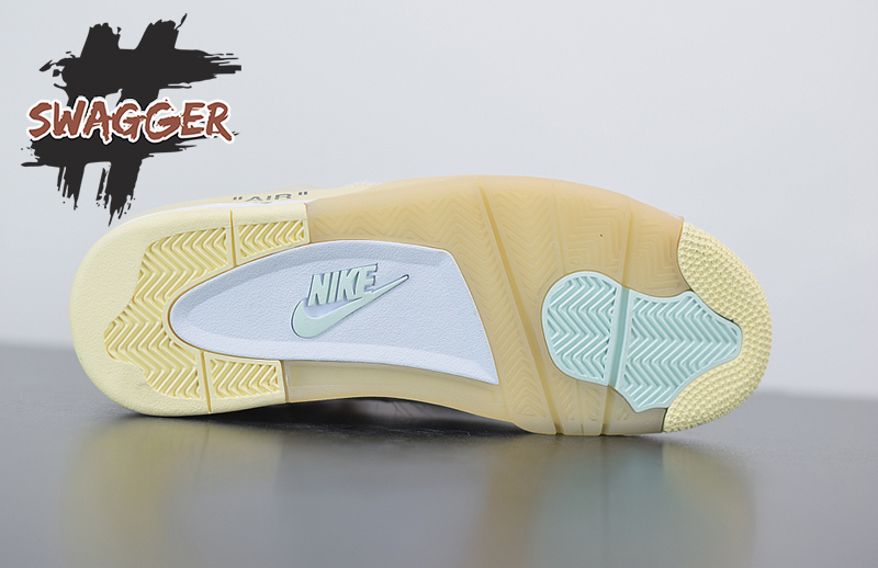 Nike Air Jordan 4 Retro Off White Sail Pk god factory chất lượng tương đương chính hãng chuẩn % full box và phụ kiện
