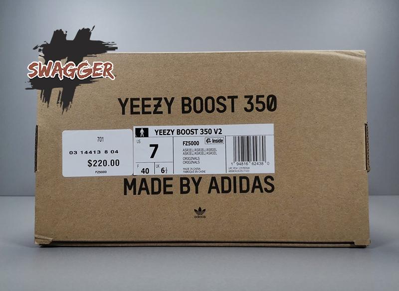 Giày Adidas Yeezy Boost 350 V2 Asriel Pk God Factory sử dụng chất liệu chính hãng, Full box phụ kiện , chuẩn 99%