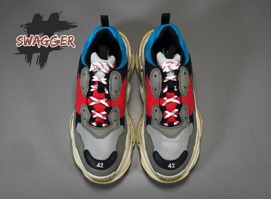 Cách Phân Biệt Giày Balenciaga Triple S Replica 1:1 Và Có Nên Mua Giày Replica 1:1 Hay Không ?