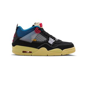 Giày Nike Air Jordan 4 Retro Union Off Noir Pk God Factory