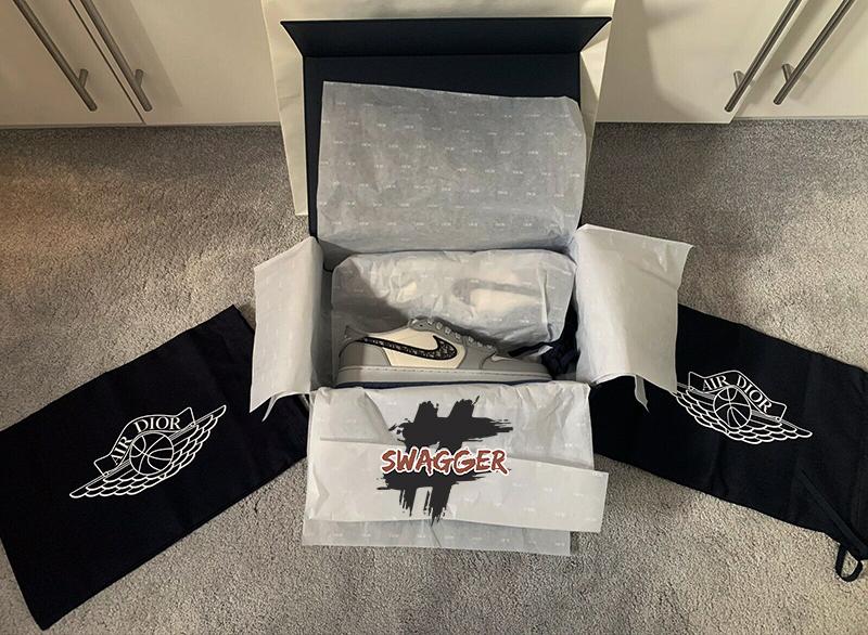 Giày Nike Air Jordan 1 Retro Dior Low Pk God Factory sử dụng chất liêu chính hãng, chuẩn 99% full box và phụ kiện nhận ship cod toàn quốc