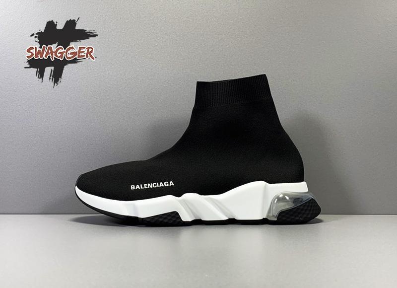 Giày Balenciaga Speed Trainer Clear Sole Sneaker Plus Factory sử dụng chất liệu chính hãng chuẩn 99%