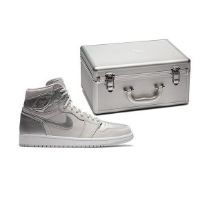 Giày Nike Air Jordan 1 Retro High CO Japan Neutral Grey (Suitcase) Pk God Factory