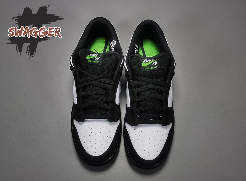 Giày Nike SB Dunk Low Staple Panda Pigeon Pk God Factory sử dụng chất liệu chính hãng chuẩn 99% so với chính hãng