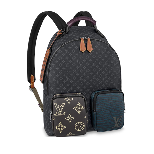 Balo Louis Vuitton Backpack Multipocket Like Authentic