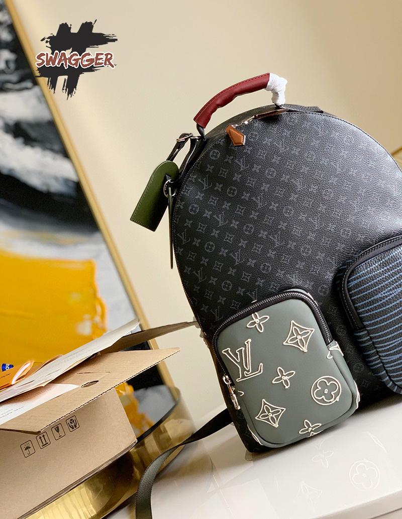 Balo Louis Vuitton Backpack Multipocket Like Authentic sử dụng chất liệu chính hãng, chuẩn 99% full box và phụ kiện