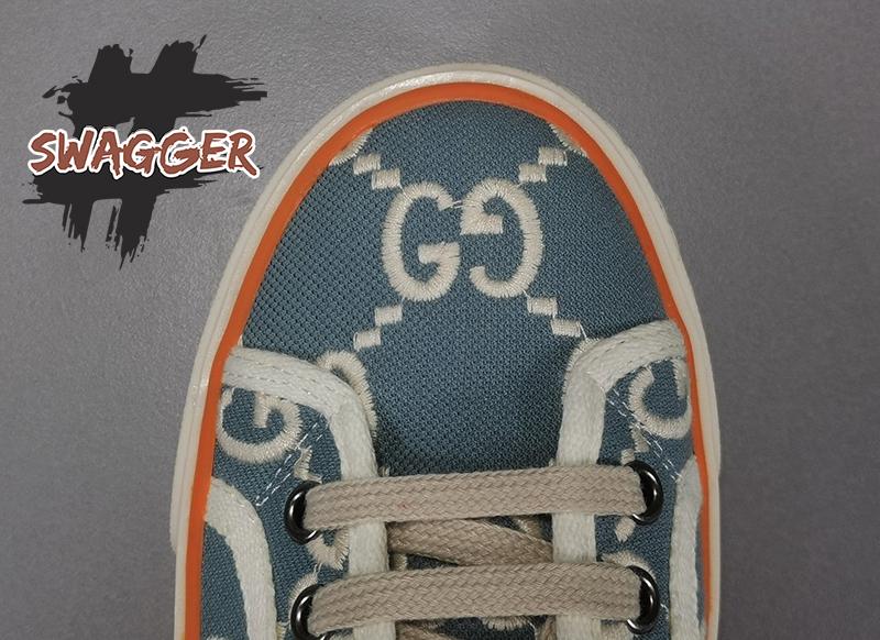 Giày Gucci Tennis 1977 Sneaker Light Blue Like Authentic chuẩn 99% sử dụng chất liệu chính hãng, full box và phụ kiện