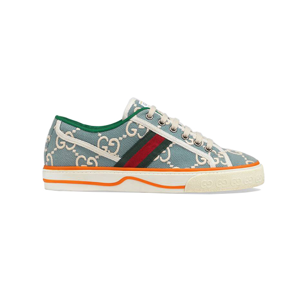 Giày Gucci Tennis 1977 Sneaker Light Blue Like Authentic