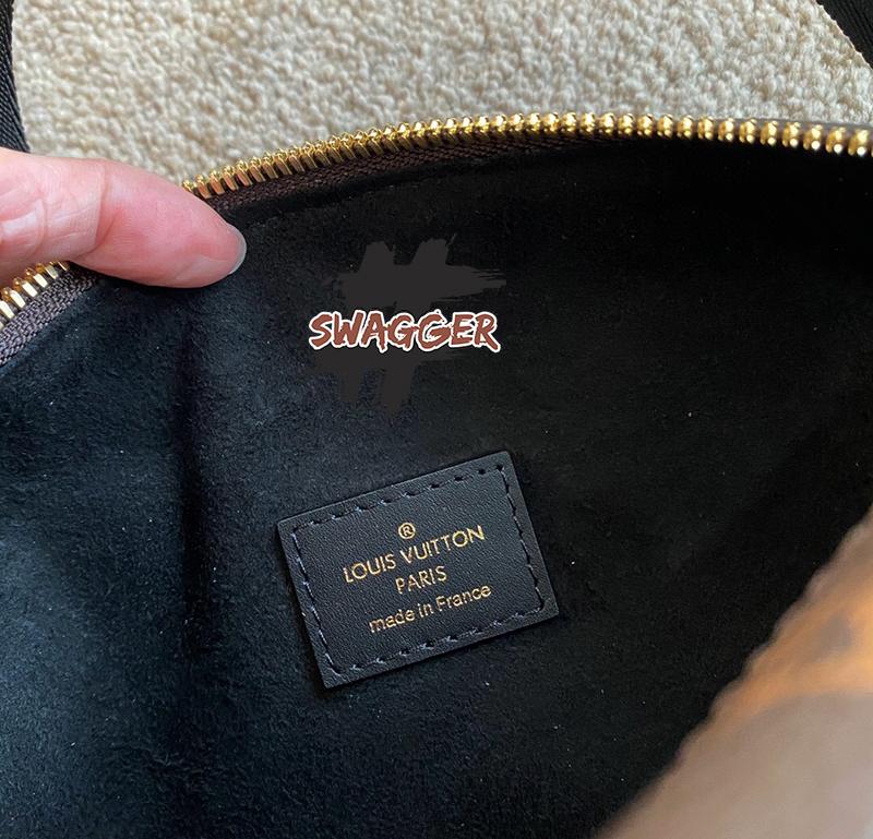 Túi Louis Vuitton Petite Malle Souple Like Authentic sử dụng chất liệu chính hãng, chuẩn 99% so với chính hãng