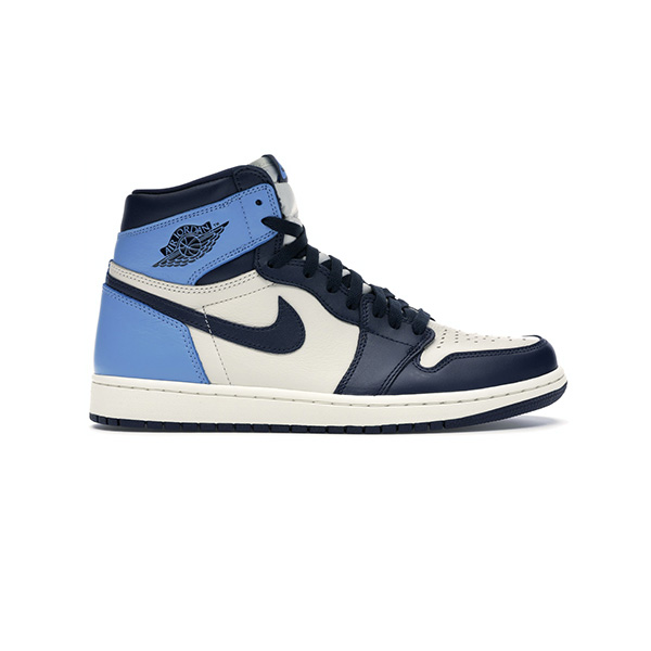 Giày Nike Air Jordan 1 Retro high Obsidian UNC Pk God Factory