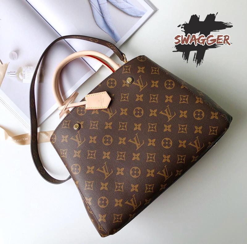 túi Louis Vuitton Montaigne Gm like authentic sử dụng chất liệu chính hãng, chuẩn 99% full box và phụ kiện,