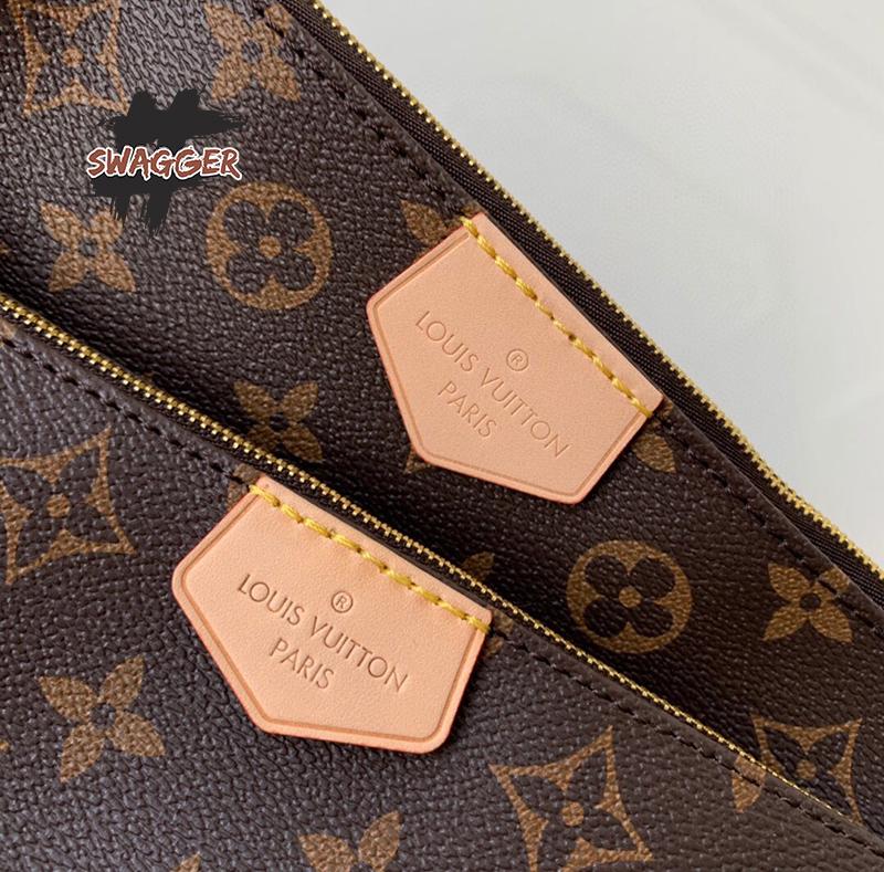 Túi Louis Vuitton Multi Pochette Accessoires Like Authentic, sử dụng chất liệu chính hãng. full box phụ kiện, chuẩn 99%