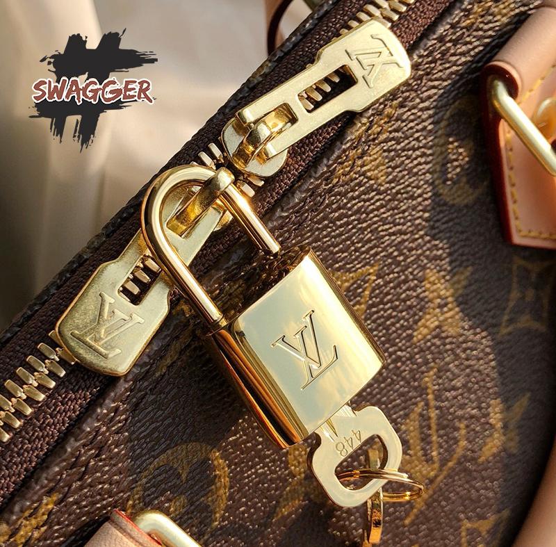 Túi Louis Vuitton Alma BB Like Authentic sử dụng chất liệu chính hãng, chuẩn 99%, full box và phụ kiện
