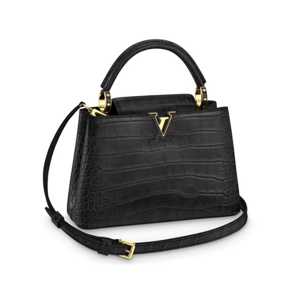 Túi Louis Vuitton Capucines BB Crocodilien Mat Like Authentic