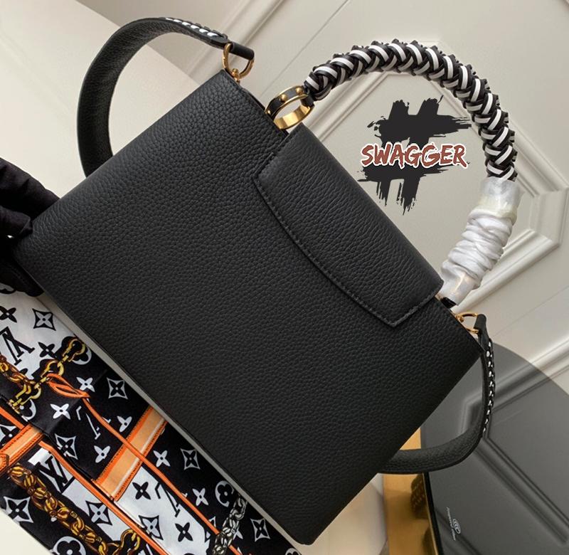 Túi Louis Vuitton Capucines PM Like Authentic sử dụng chất liệu chính hãng, chuẩn 99% , full box và phụ kiện