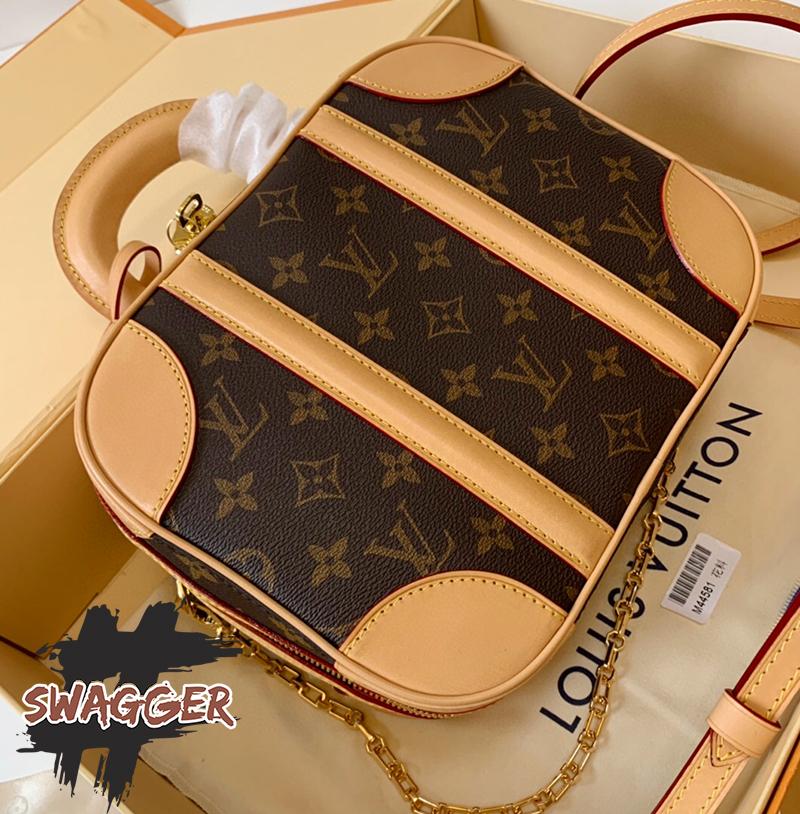 Túi Louis Vuitton Valisette BB Like Authentic sử dụng chất liệu chính hãng, chuẩn 99% full box và phụ kiện