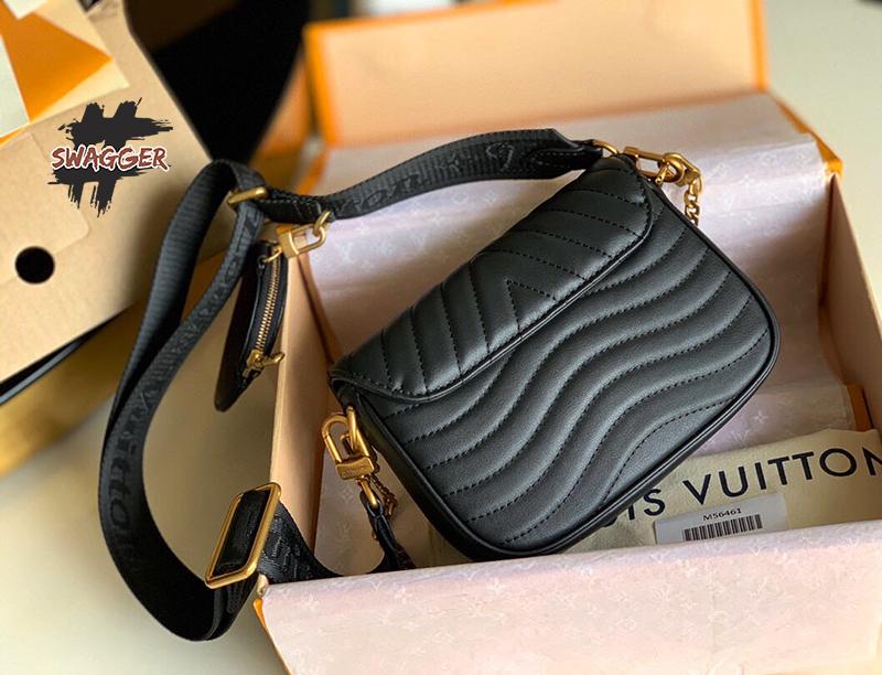Túi Xách Louis Vuitton New Wave Multi Pochette Like Authentic sử dụng chất liệu chính hãng , chuẩn 99% cam kết chất lượng tốt nhất hiện nay