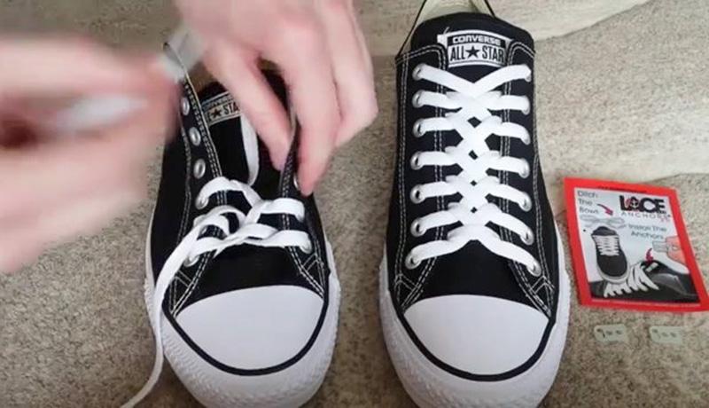 Kiểu buộc dây giày Loopback