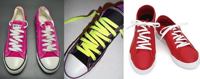 Tổng Hợp cách buộc dây giày converse đẹp Độc Đáo