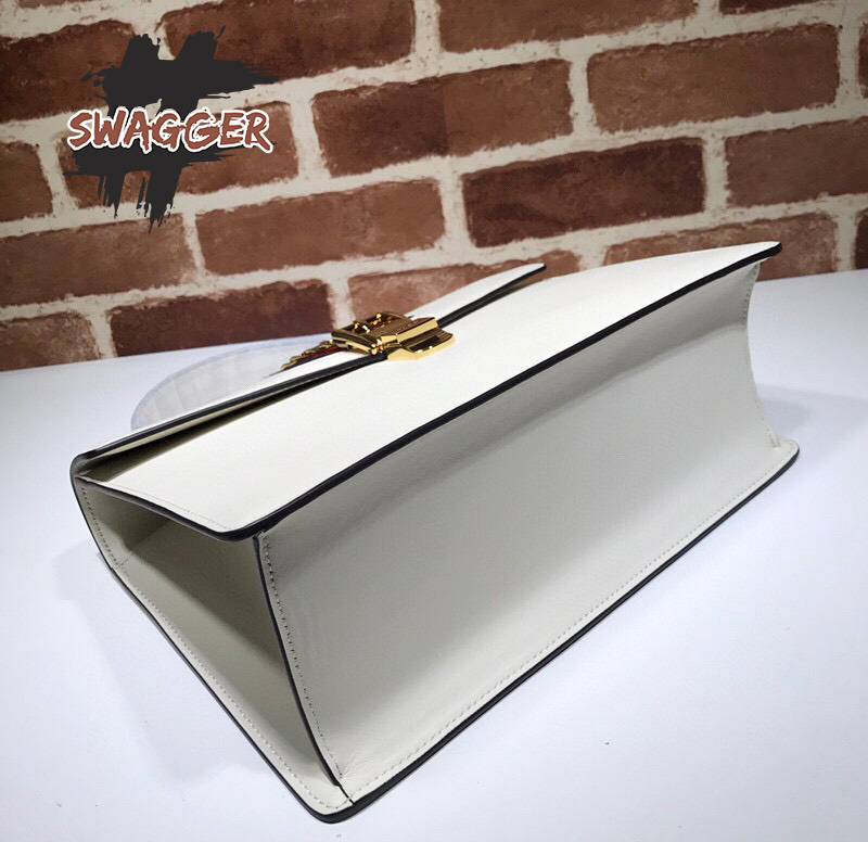 Túi Gucci Sylvie Medium Top Handle Bag Like Authentic, sử dụng chất liệu chính hãng chuẩn 99%