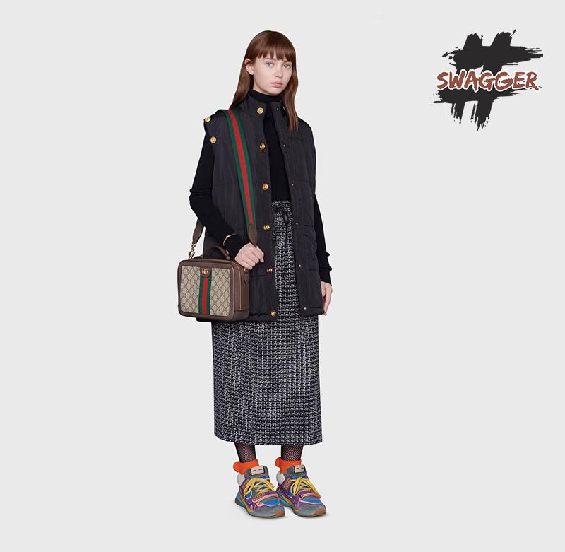 Túi Gucci Ophidia Small GG Shoulder Bag Like Authentic , sử dụng chất liệu chính hãng