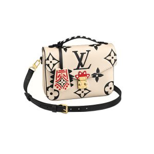 Túi Louis Vuitton Crafty Pochette Métis Creme Like Authentic