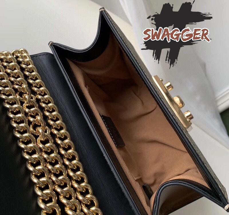Túi Gucci Padlock Small GG Shoulder Bag Like Authentic, sử dụng chất liệu chính hãng, chuẩn 99%