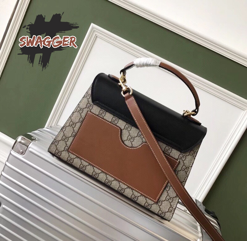 Túi Gucci Padlock Small GG Top Handle Bag Like Authentic, sử dụng chất liệu chính hãng, chuẩn 99%