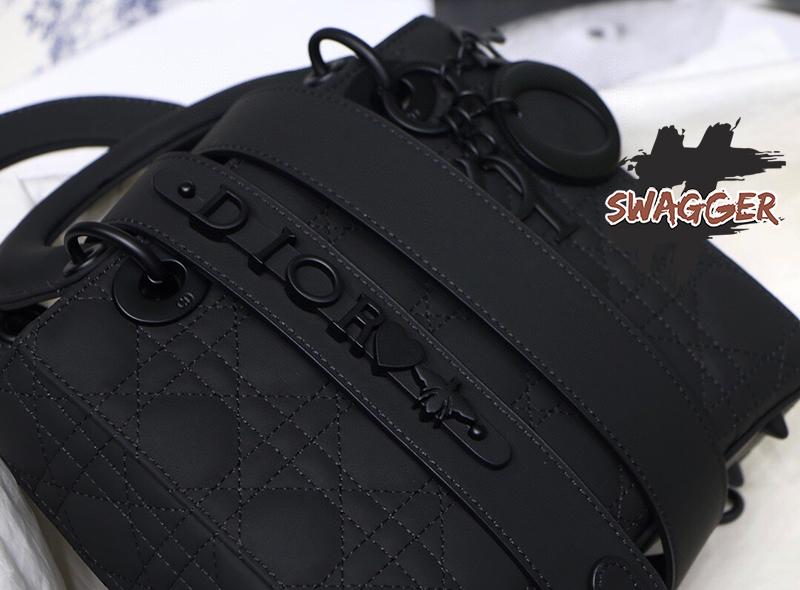 Túi Lady Dior My Abcdior Bag Black 2020 Like Authentic, sử dụng chất liệu chính hãng chuẩn 99%