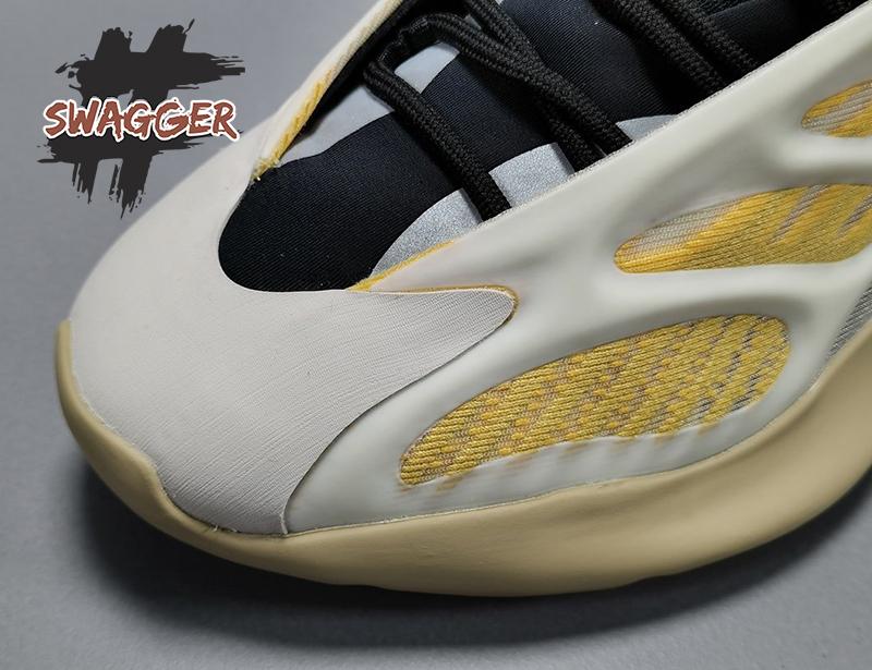 Giày Adidas Yeezy 700 V3 Safflower Pk God Factory sử dụng chất liệu chính hãng chuẩn 99%
