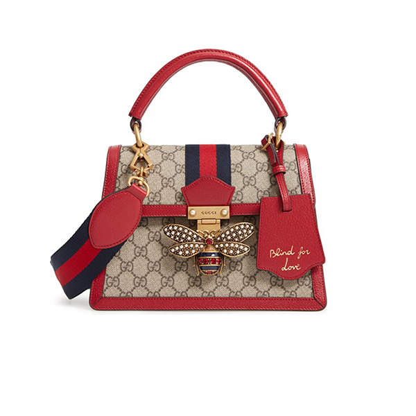 Túi Xách Gucci Queen Margaret GG Top Handle Satchel Like Authentic