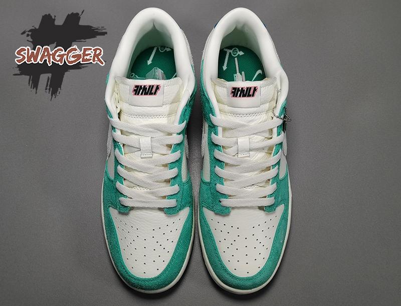 Giày Nike Dunk Low Kasina Neptune Green pk god, sử dụng chất liệu chính hãng chuẩn 99%