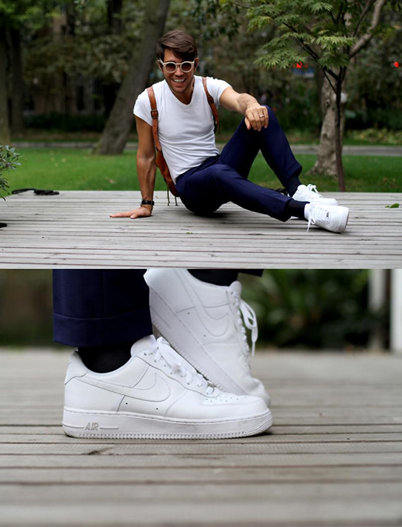 Cách Phối Đồ Với Giày Nike Air Force 1 Cá Tính Và Độc Đáo