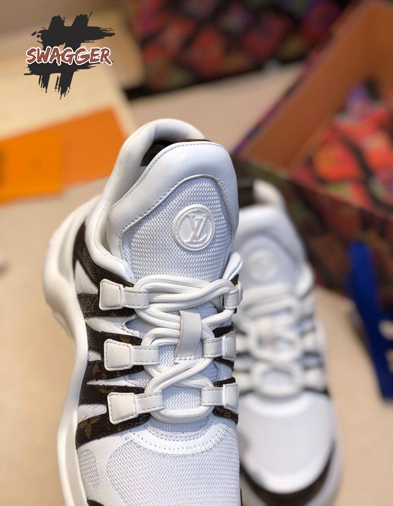 Giày louis vuitton archlight white Like Authentic, sử dụng chất liệu chính hãng chuẩn 99%