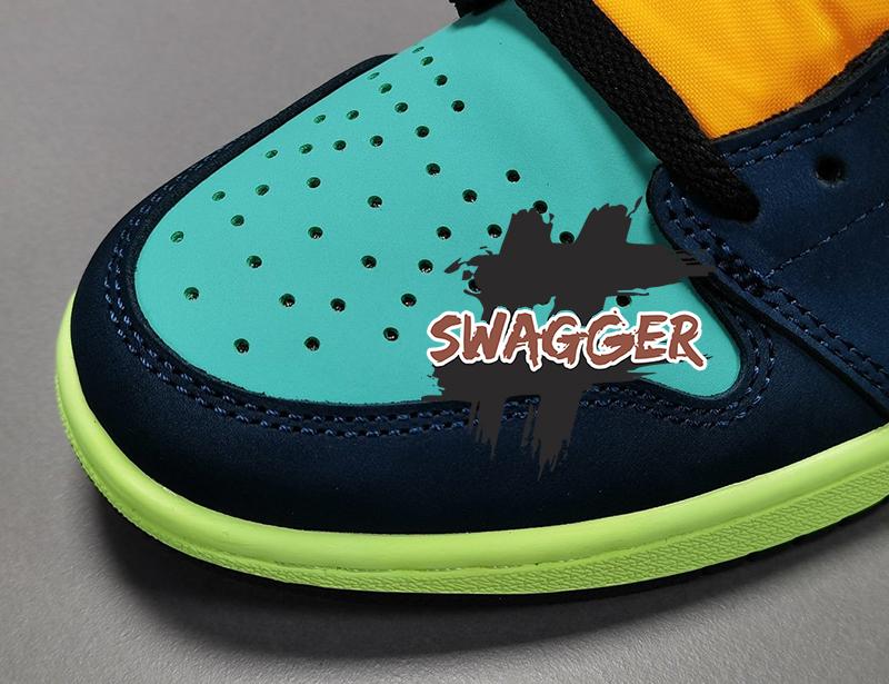 Giày Nike Air Jordan 1 Retro High Tokyo Bio Hack Pk God Factory, sử dụng chất liệu chính hãng. chuẩn 99%
