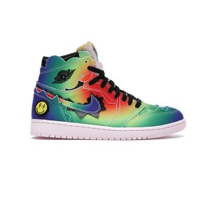Giày Nike Air Jordan 1 Retro High J Balvin Pk God Factory