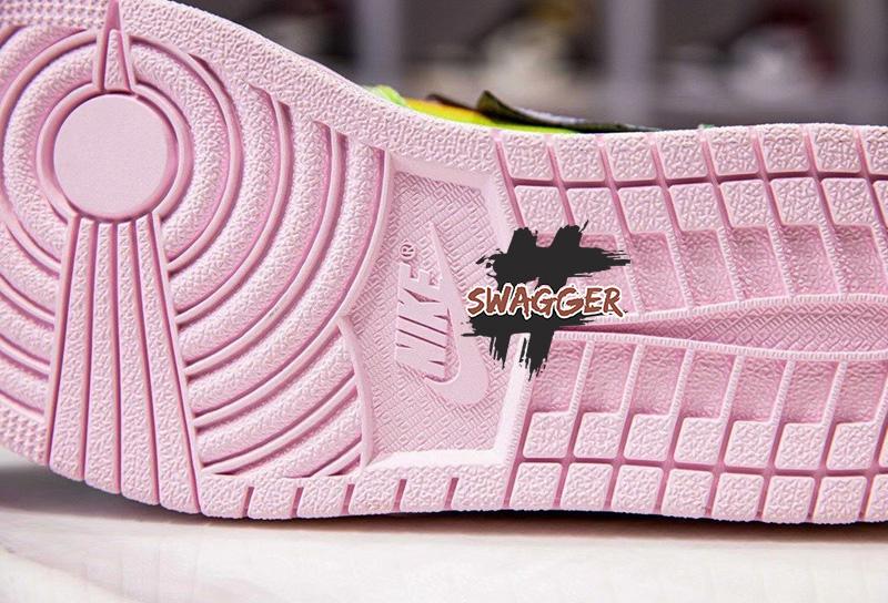 Nike Air Jordan 1 Retro High J Balvin pk god factory sử dụng chất liệu chính hãng chuẩn 99%