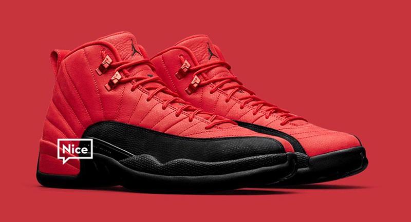 Giày Nike Air Jordan 12 Reverse Flu Game Phát Hành Dành Riêng Cho Gia Đình